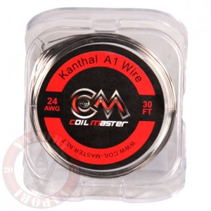 Kanthal A1 Wire 30ft 24GA - CM